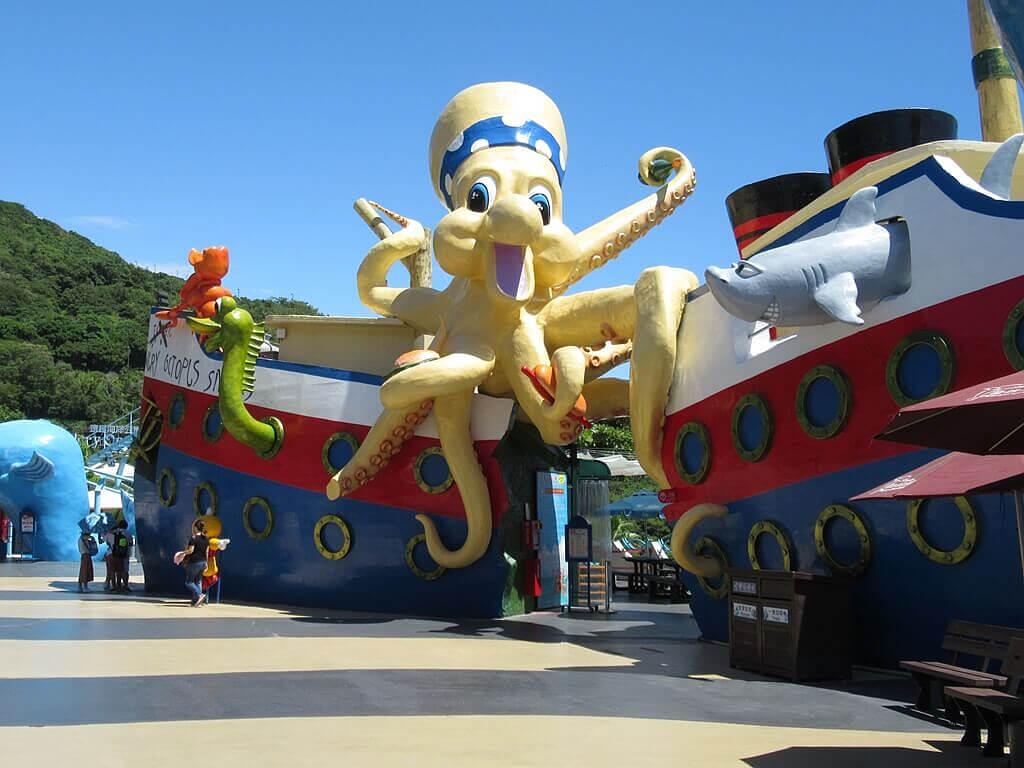 花蓮遠雄海洋公園的圖片:大章魚沙灘