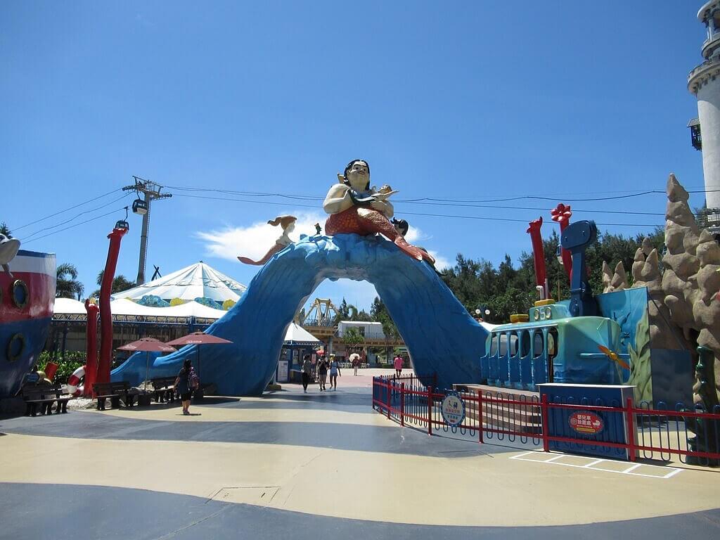 花蓮遠雄海洋公園的圖片:海底王國出入口