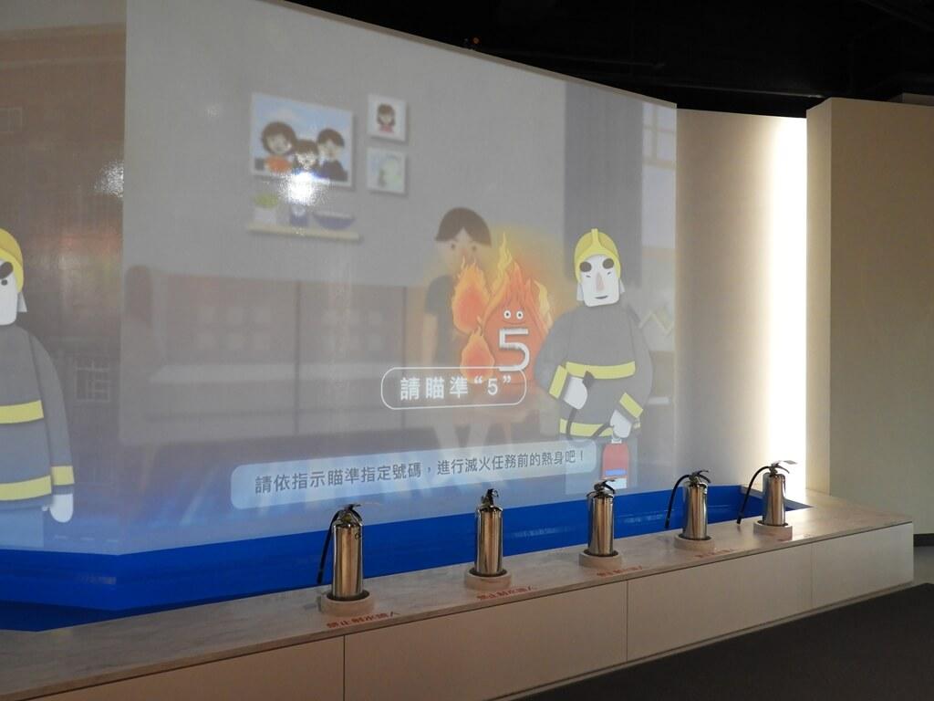 桃園市消防局訓練中心暨防災教育館的圖片:噴水滅火挑戰區(6歲以上)