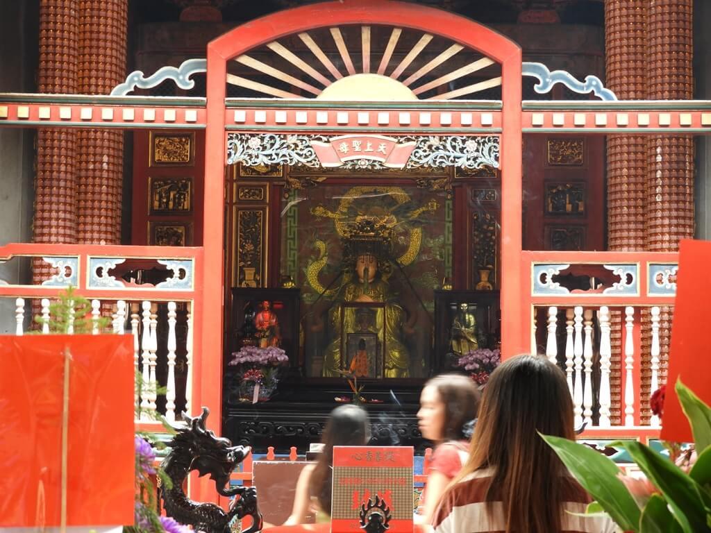 艋舺龍山寺的圖片:天上聖母