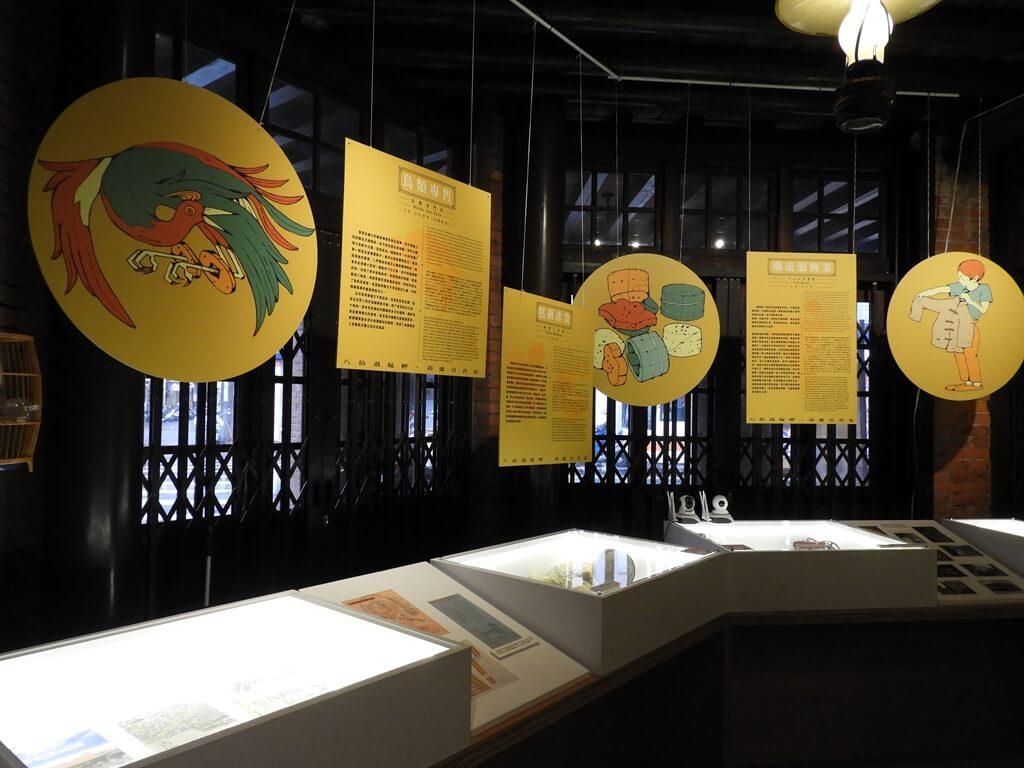 剝皮寮歷史街區的圖片:艋舺當地一些在地特色產業介紹看板