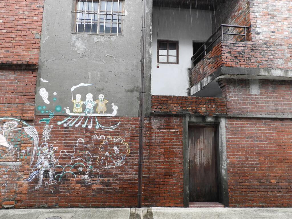 剝皮寮歷史街區的圖片:牆壁上的塗鴉
