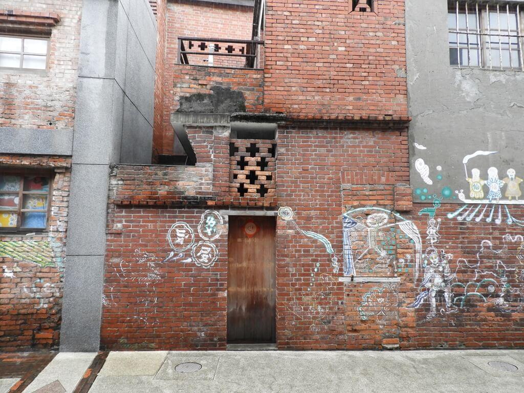 剝皮寮歷史街區的圖片:牆上塗鴉(123655784)