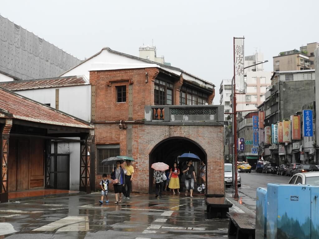 剝皮寮歷史街區的圖片:廣州街旁的剝皮寮招牌