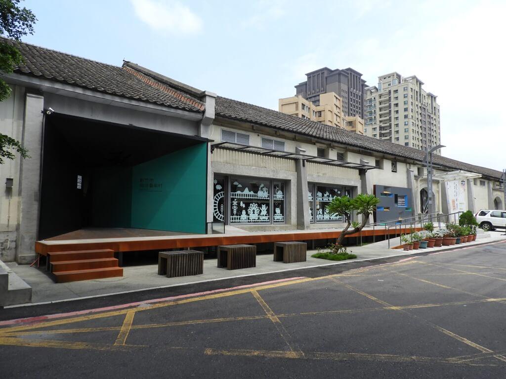 新竹市鐵道藝術村的圖片:新竹市鐵道藝術村建築外觀及出入口