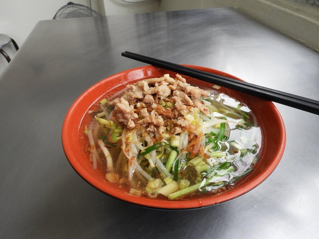 新竹縣關西老街的圖片:清香飲食店的關西湯麵(客家口味)