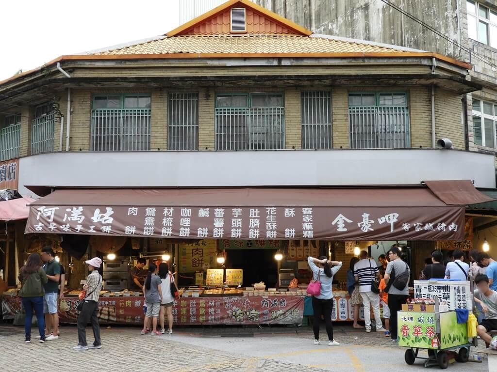 北埔老街的圖片:阿滿姑古早味手工餅、金豪呷客家鹹豬肉