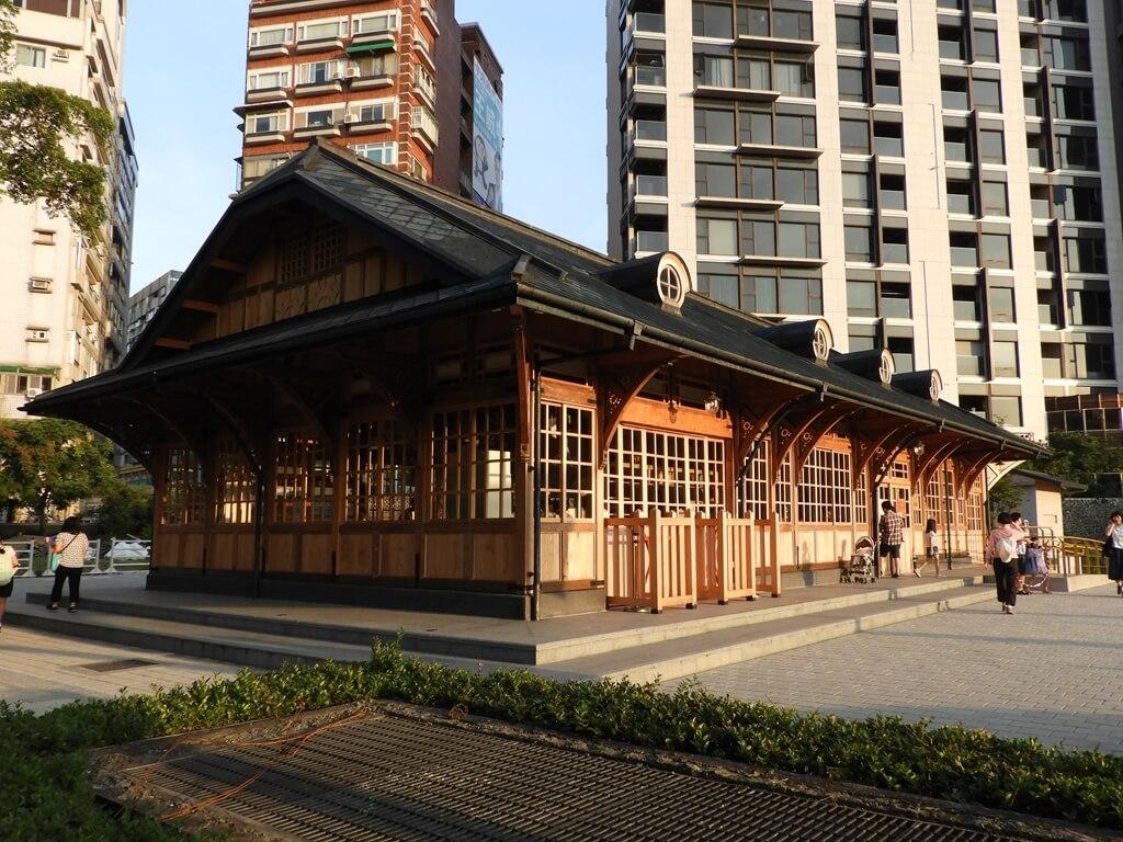 新北投車站的圖片:全木造建築的新北投火車站
