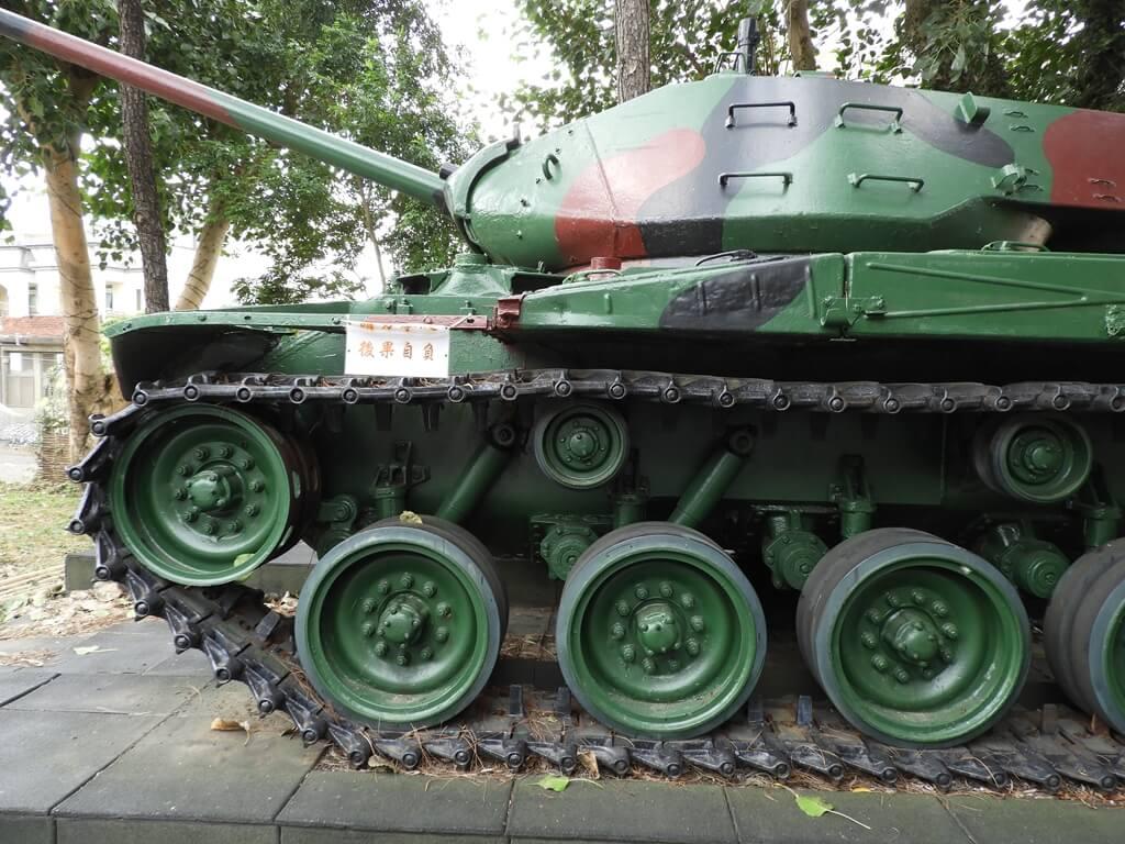 湖口老街的圖片:M41 戰車展示圖二
