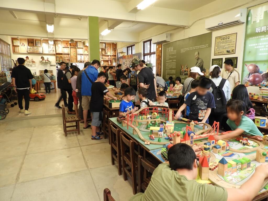 臺灣玩具博物館的圖片:玩具博物館室內的景象