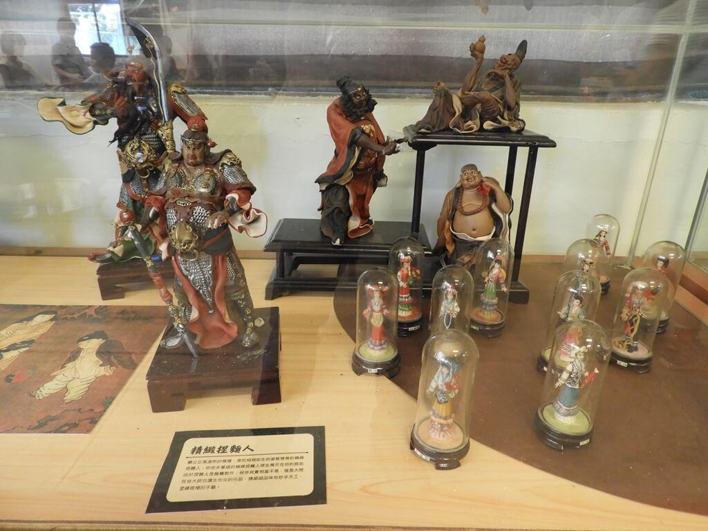 臺灣玩具博物館的圖片:精緻捏麵人