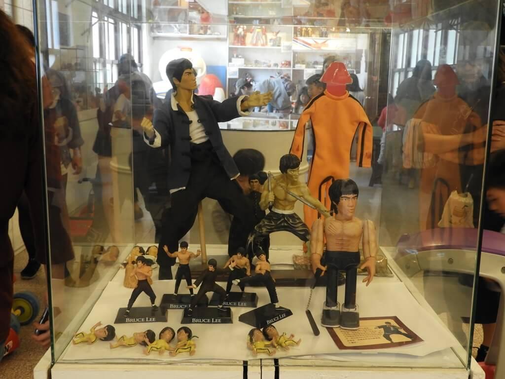 臺灣玩具博物館的圖片:李小龍公仔
