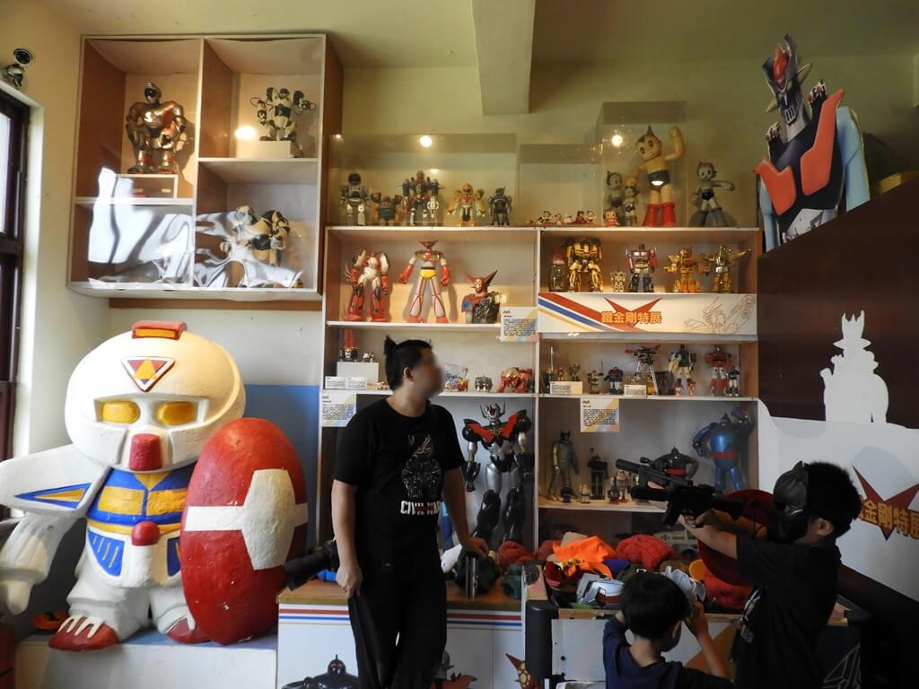 臺灣玩具博物館的圖片:BB戰士及無敵鐵金剛