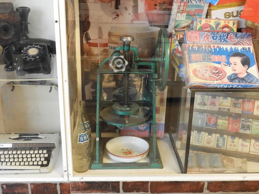 臺灣玩具博物館的圖片:古老的手搖剉冰機台