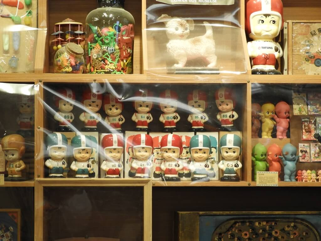 臺灣玩具博物館的圖片:很多大同寶寶