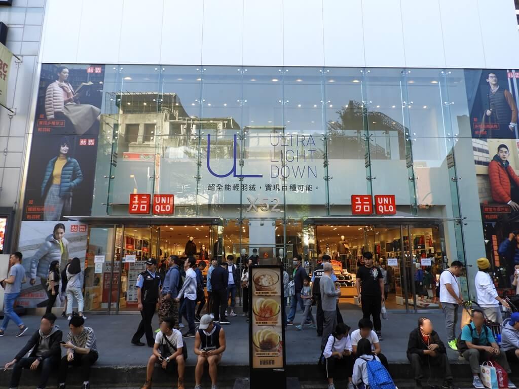 西門町的圖片:日系服飾品牌 UNIQLO