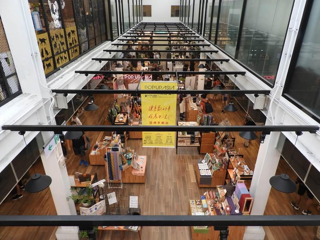 西門紅樓的圖片:鳥瞰 16 工房 1F 中央商品展示區