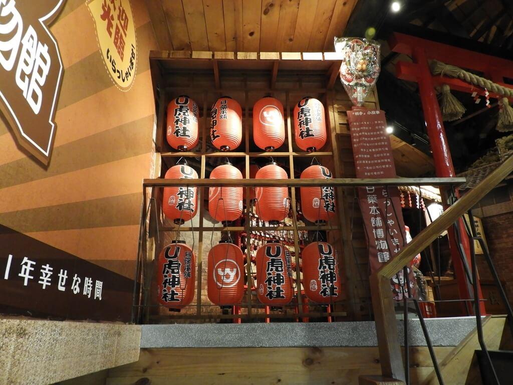 日藥本舖博物館西門館的圖片:U虎神社燈籠