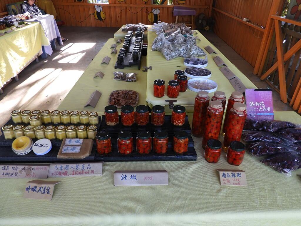 青林農場的圖片:蜂蜜產品、辣椒、洛神花