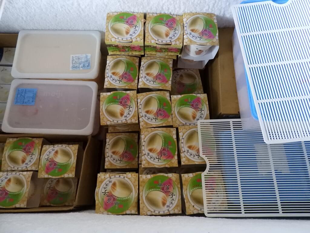 林家古厝休閒農場的圖片:冷凍冰箱內的蓮子冰淇淋