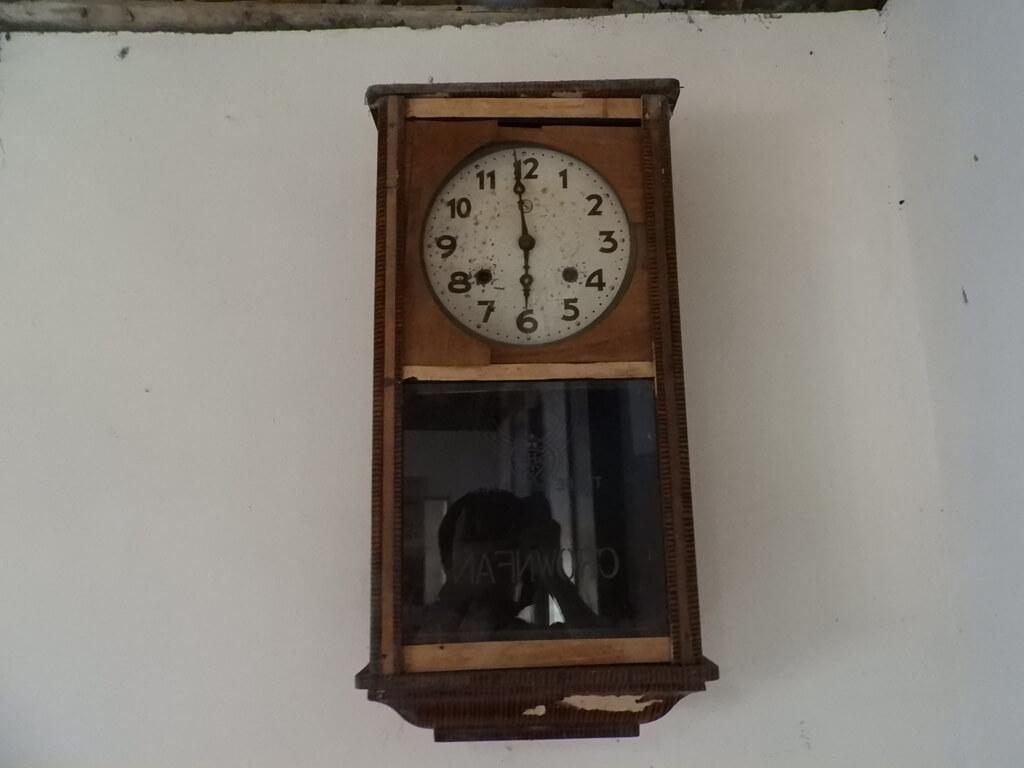 林家古厝休閒農場的圖片:強上的掛鐘
