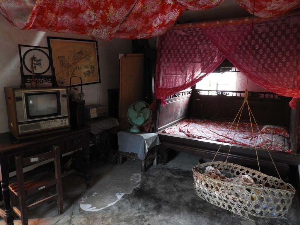 林家古厝休閒農場的圖片:傳統的臥室