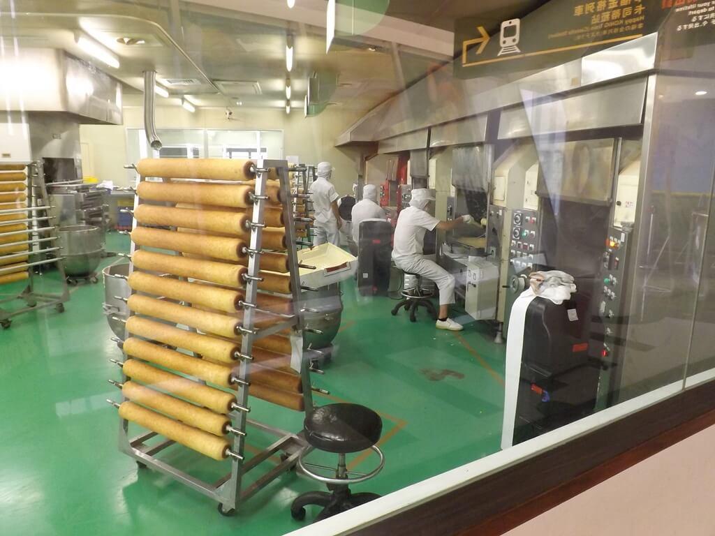 卡司‧蒂菈樂園(金格觀光工廠)的圖片:生產年輪蛋糕的工廠區