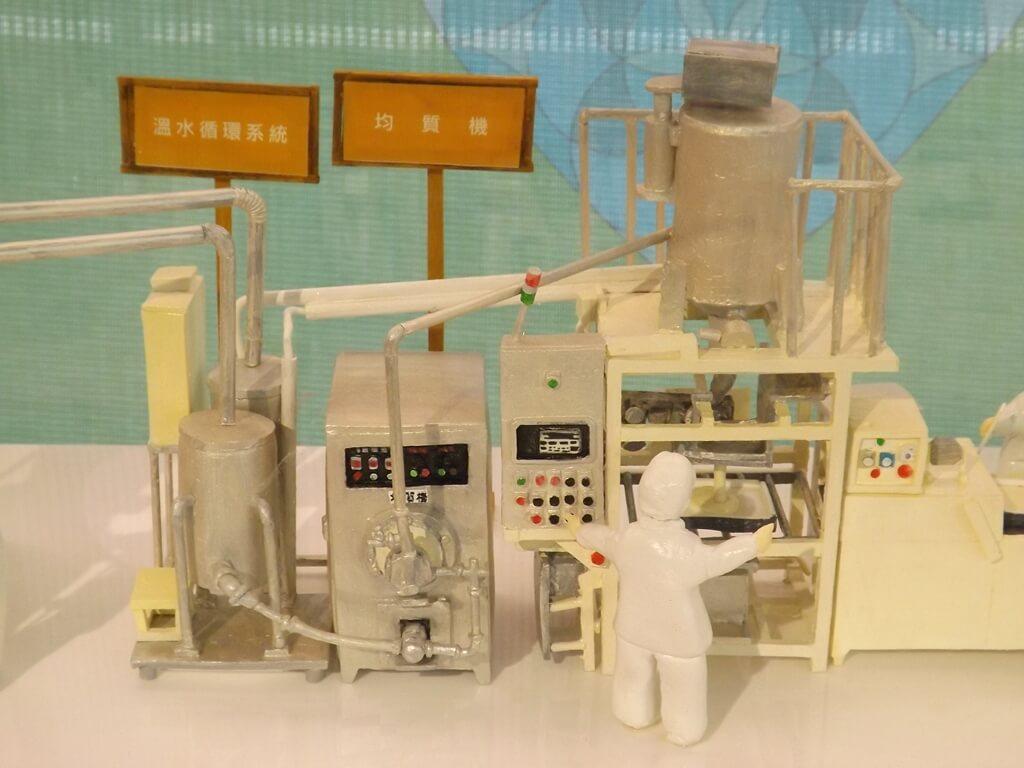 卡司‧蒂菈樂園(金格觀光工廠)的圖片:溫水循環系統、均質機模型