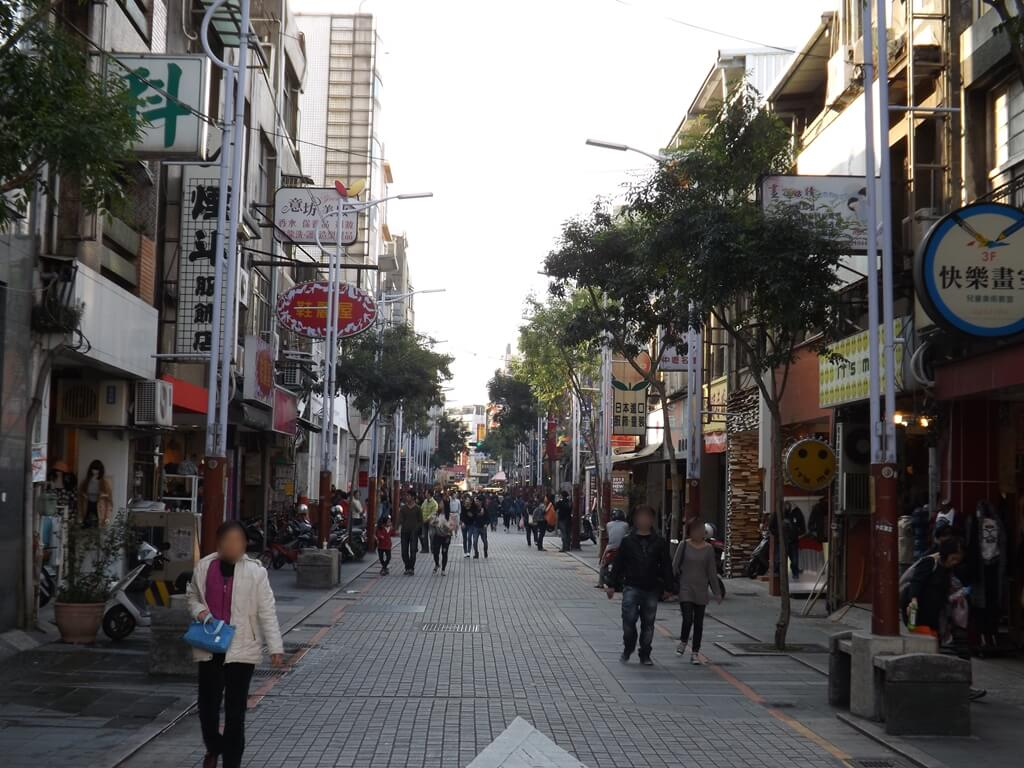 中壢中平路商圈的圖片:行人徒步區(123657316)
