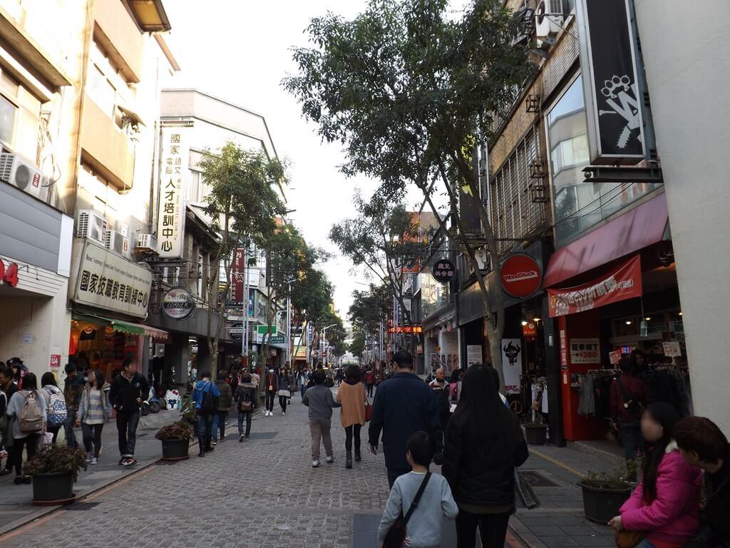 中壢中平路商圈的圖片:行人徒步區(123657317)