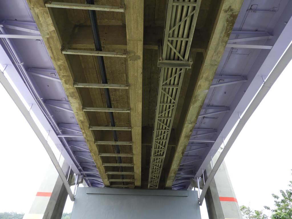 大溪橋的圖片:大溪橋的橋底構造