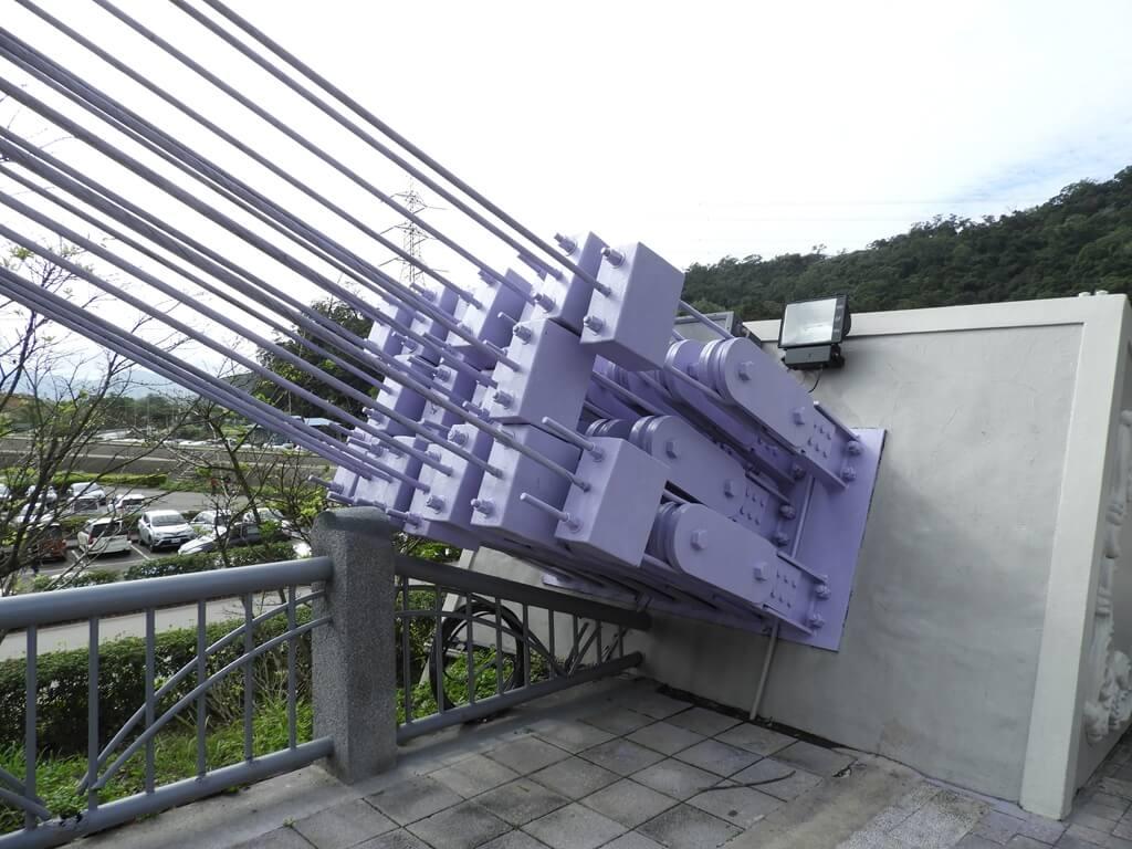 大溪橋的圖片:瑞安路一段端的鋼索固定(123657675)