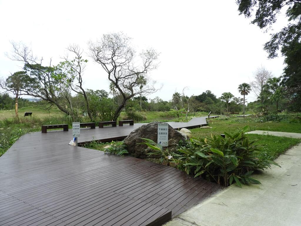 大溪山豬湖親水生態園區的圖片:濕地觀察棧道