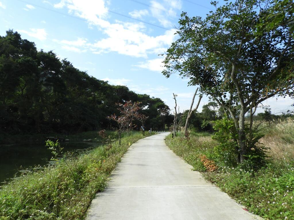 大溪山豬湖親水生態園區的圖片:走在山豬湖親水生態園區的步道