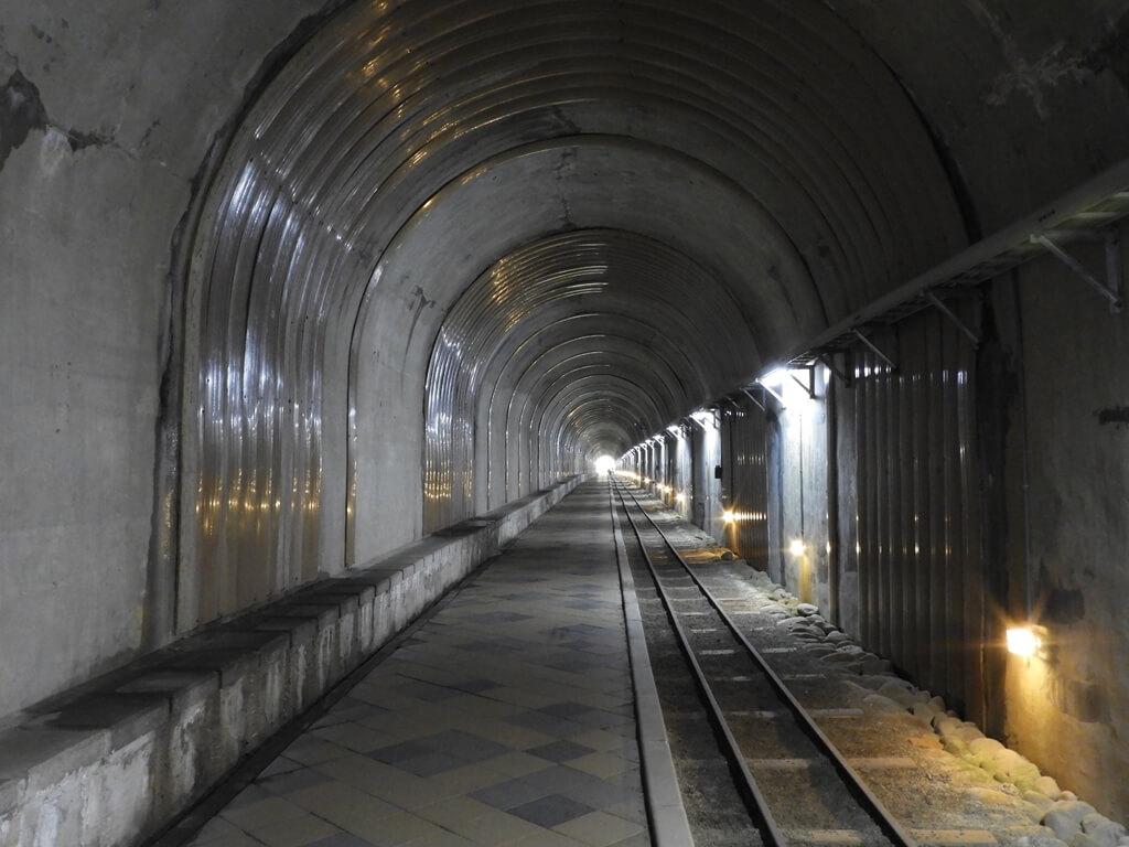 舊百吉隧道的圖片:舊百吉隧道內的景像 2019.1
