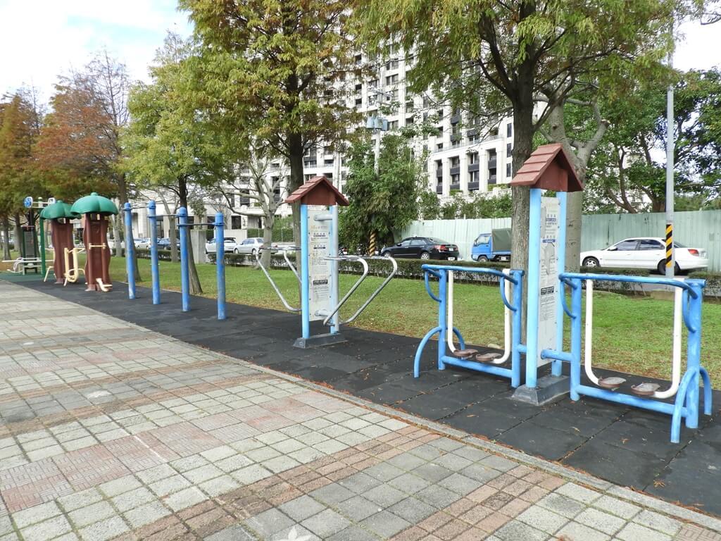 桃園玉山公園的圖片:南豐二街旁的運動器材區