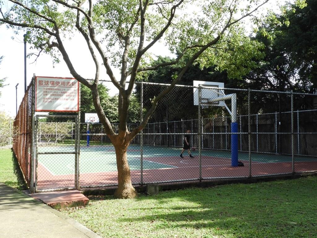桃園玉山公園的圖片:藍球場