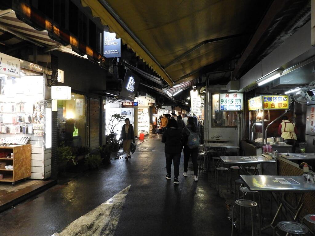 師大夜市的圖片:雨後龍泉街的街景