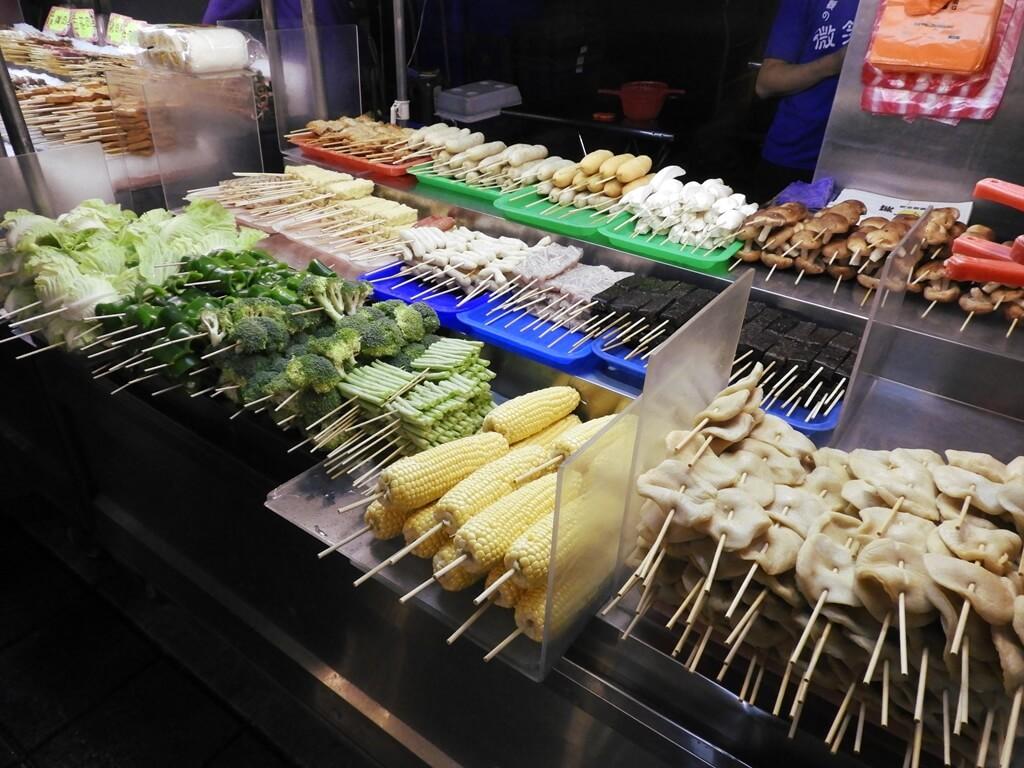 寧夏夜市的圖片:燒烤類食材