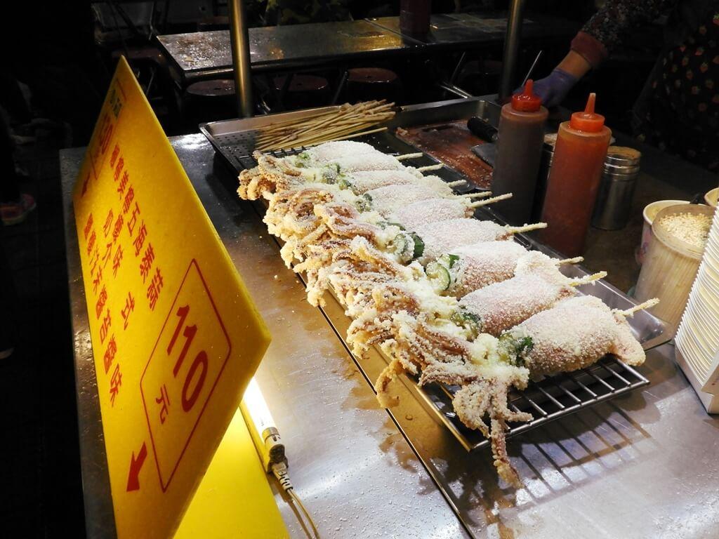 寧夏夜市的圖片:炸魷魚
