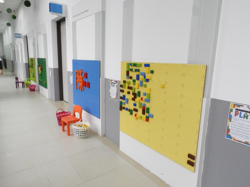 濟生Beauty新竹觀光工廠的圖片:積木牆