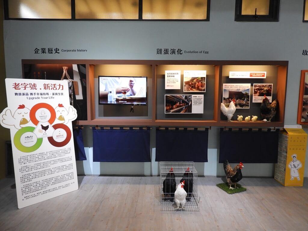 蛋寶生技不老村的圖片:企業歷史、雞蛋演化