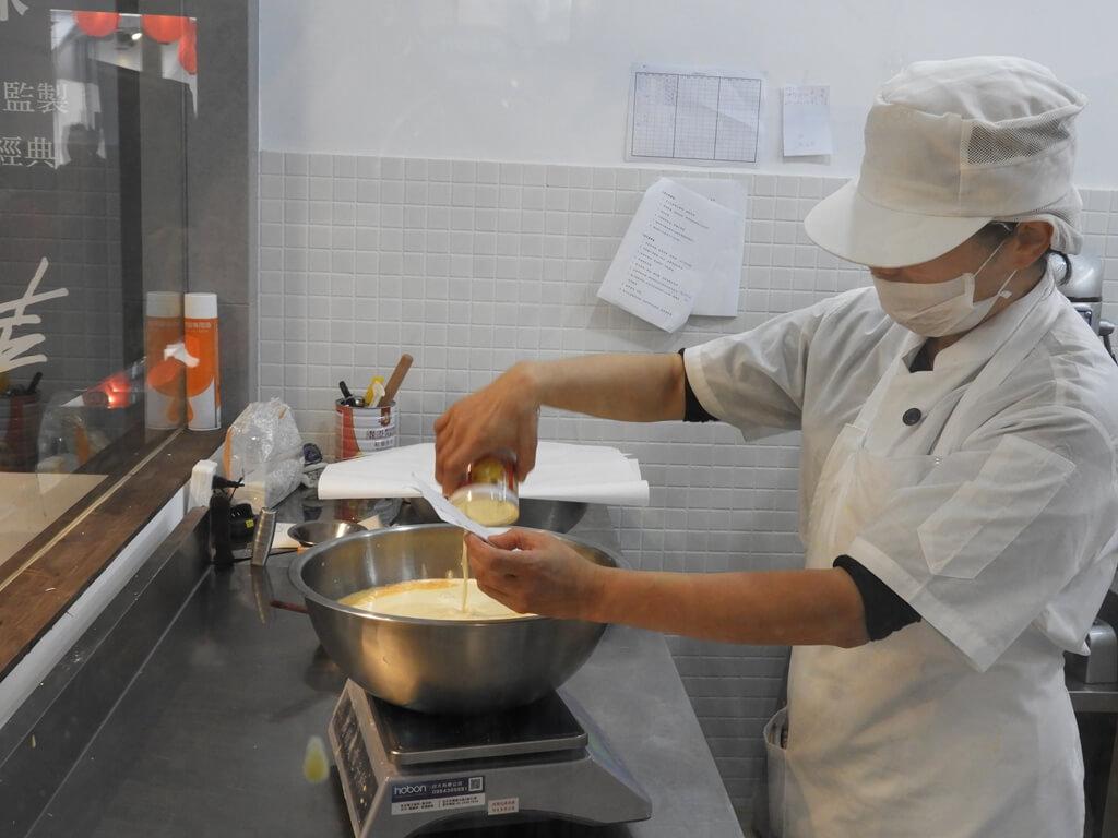 蛋寶生技不老村的圖片:正在製作烘焙原料