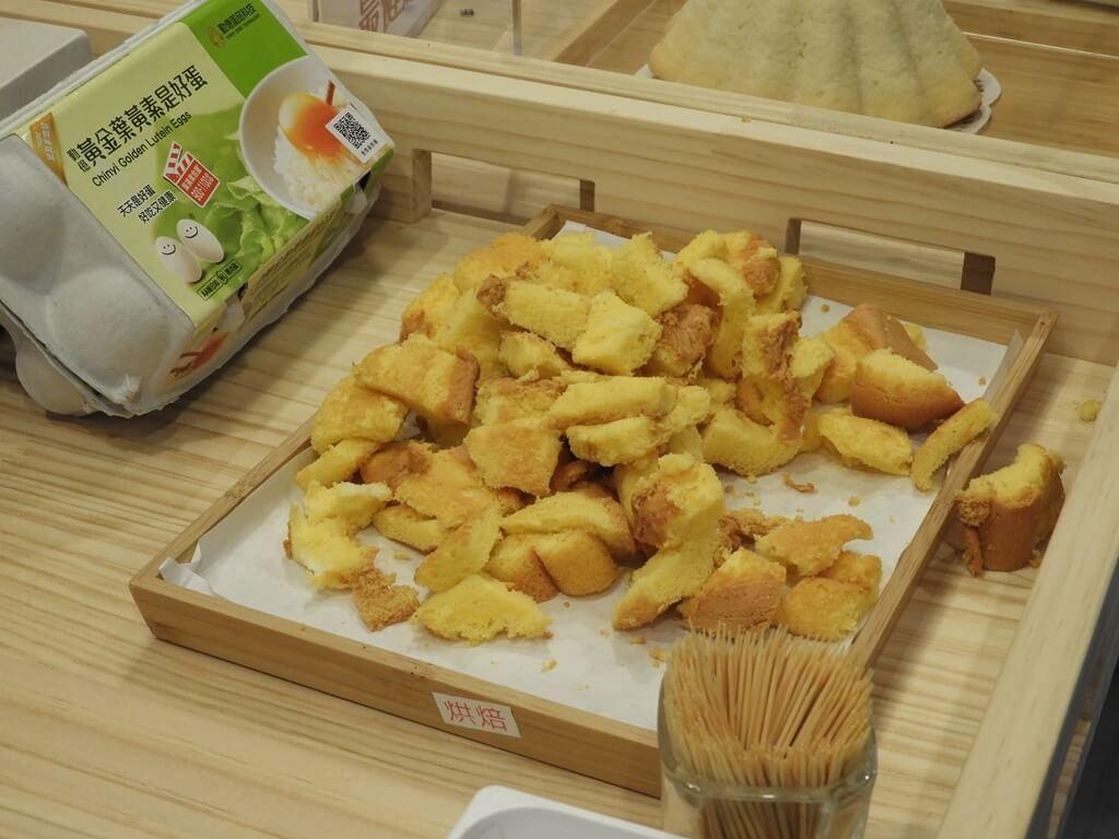 蛋寶生技不老村的圖片:長壽糕試吃區