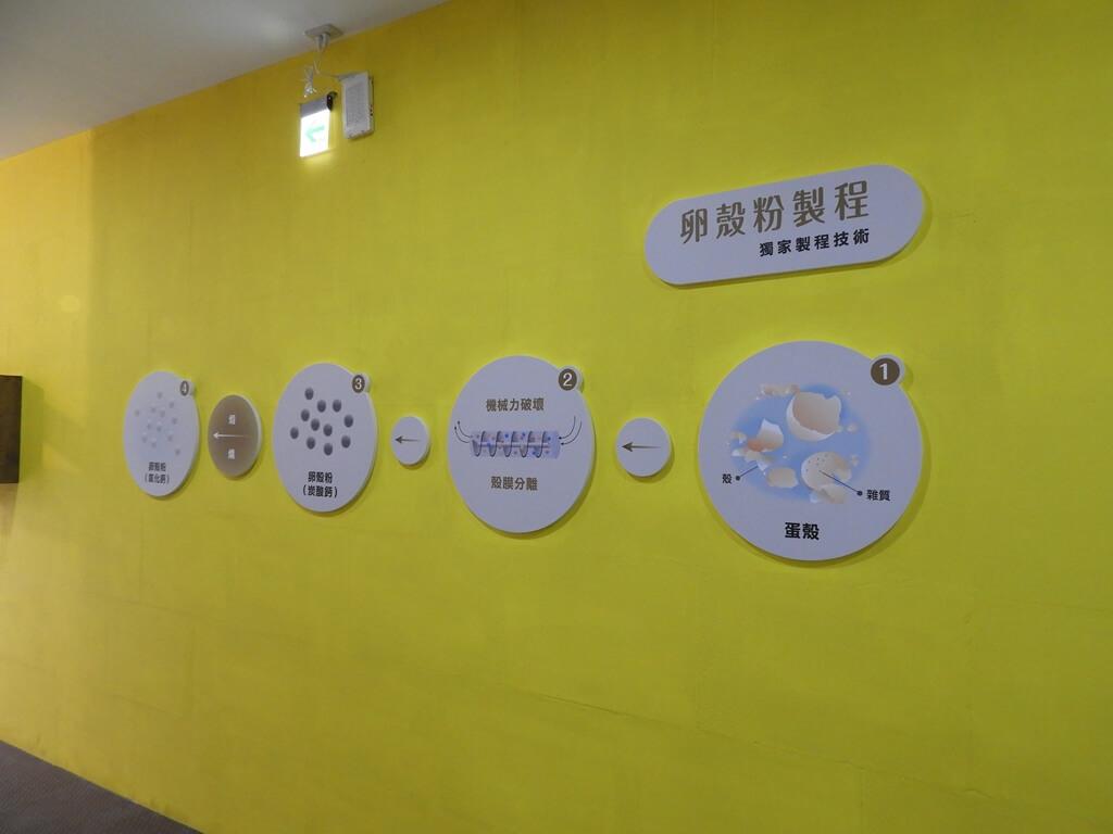 蛋寶生技不老村的圖片:卵殼粉製程