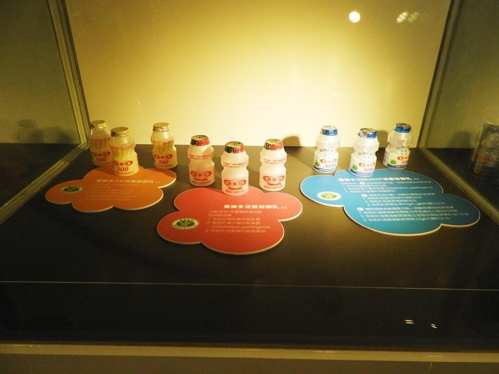 養樂多工廠的圖片:養樂多活菌發酵乳、300LIGHT活菌發酵乳