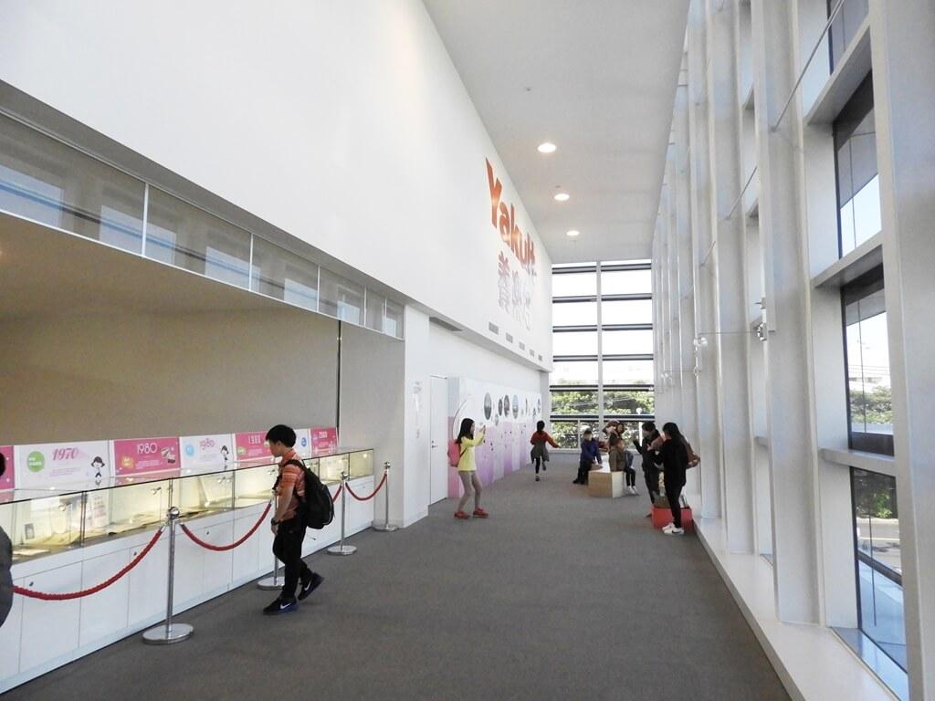 養樂多工廠的圖片:養樂多走廊