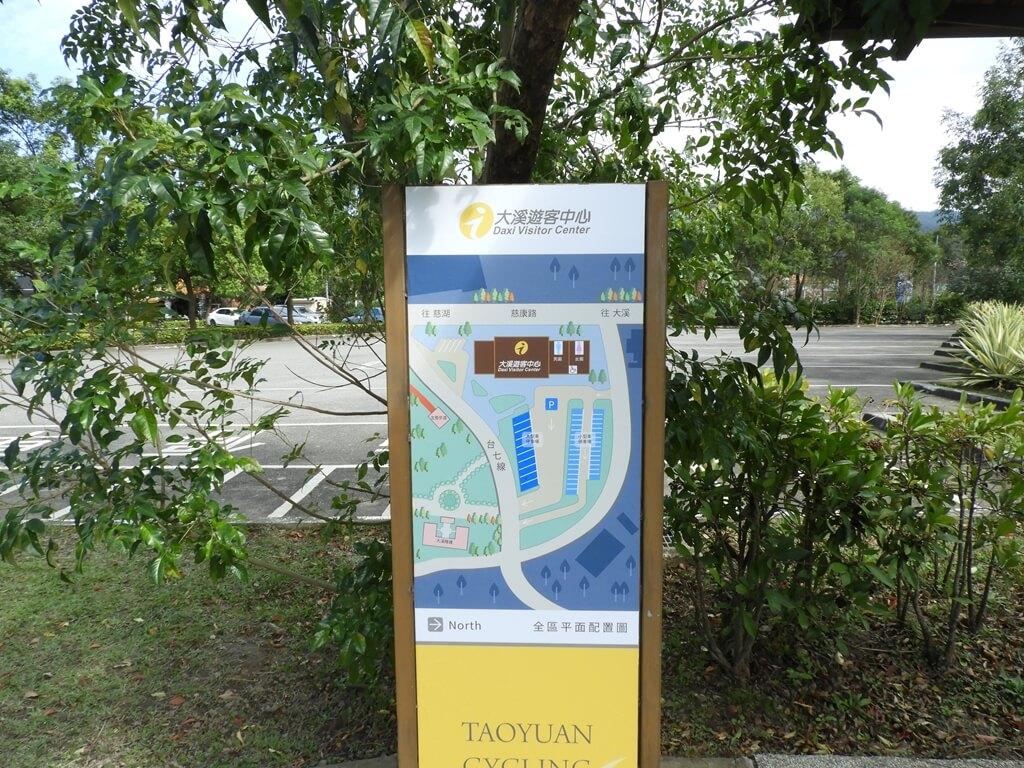 頭寮經國紀念館(大溪遊客中心)的圖片:大溪遊客中心配置圖