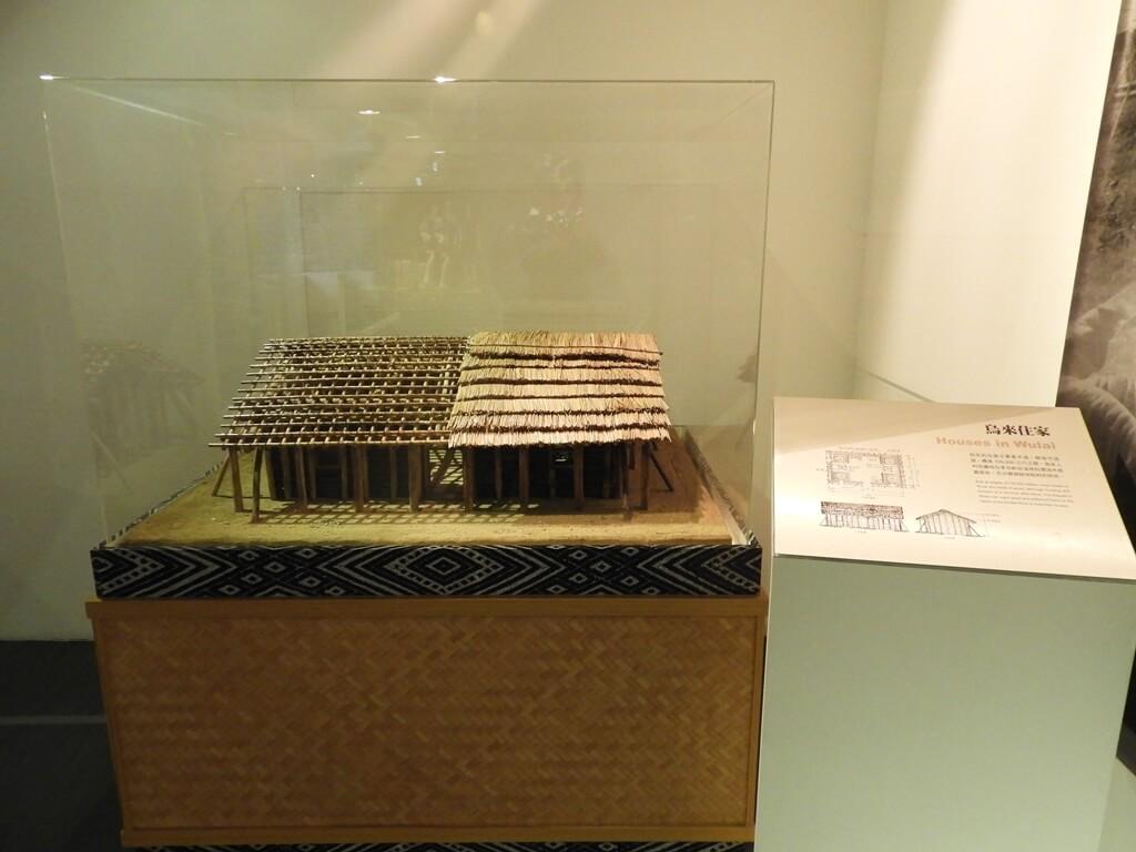 烏來泰雅民族博物館的圖片:木與竹建造的泰雅族人烏來住家模型