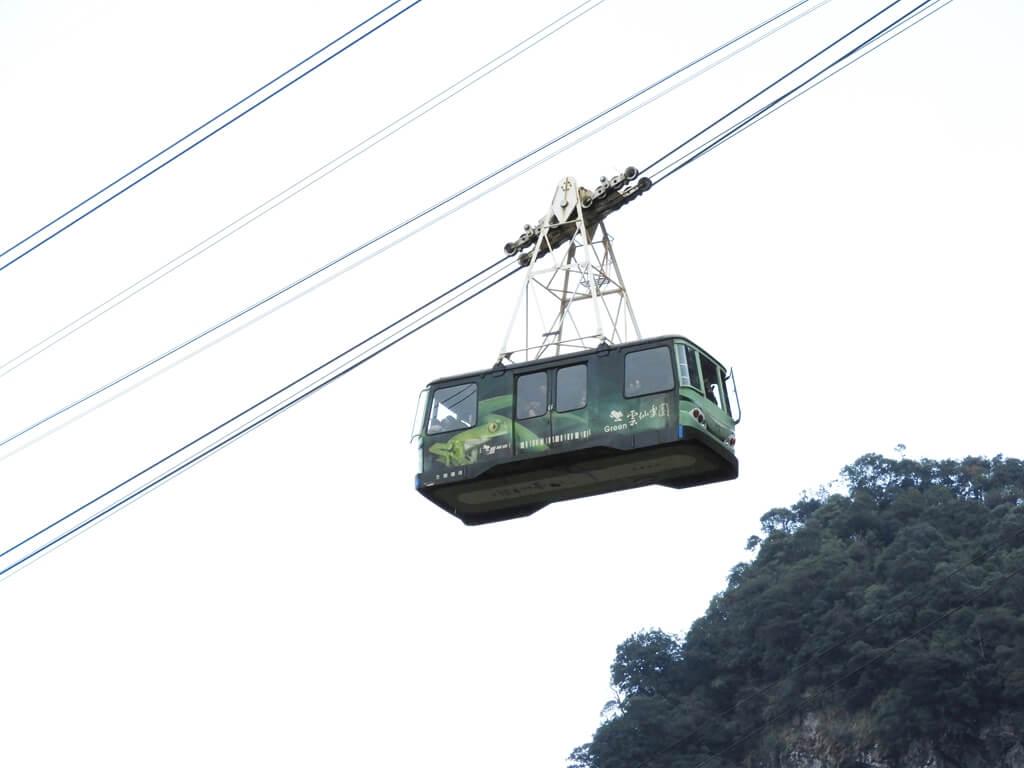烏來瀑布的圖片:雲仙樂園空中纜車